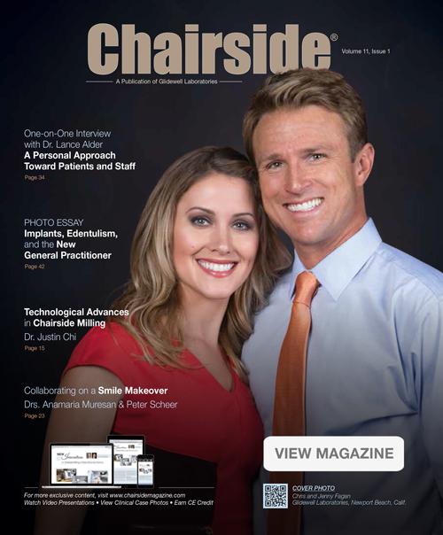 Chairside Magazine Article By Carlos Boudet, DDS